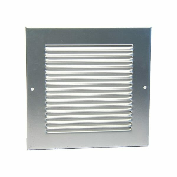 Lorient 150 x 150mm size Cover Grille Silver